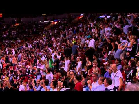 Chalmers Beats Buzzer with Long Half-Court Shot