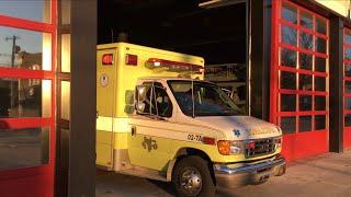 Norwood Fire Company Ambulance 2A Responding 1-20-19