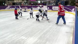 iPod touch 4G  video test  in  hockey=)