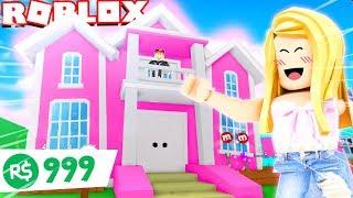 MÓJ NOWY EPICKI DOM W ROBLOX?! (Roblox Meepcity Roleplay) | Bella i Vito