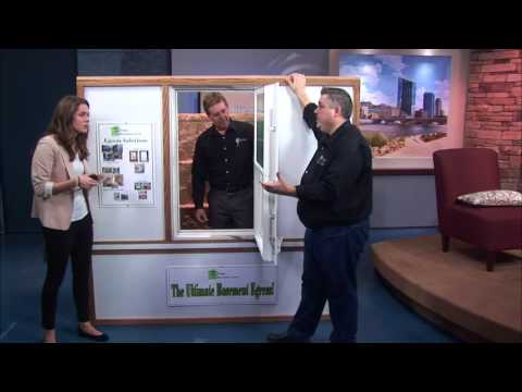 WMGB Home Improvement Demos Egress Window System