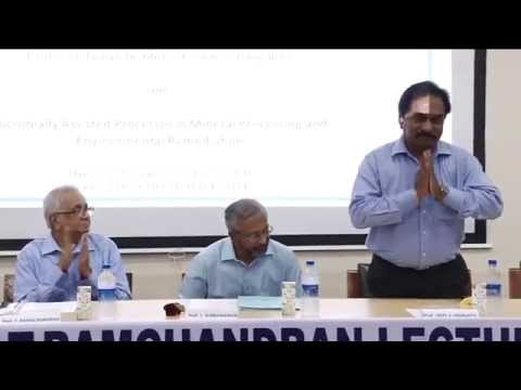 Prof. T. Ramachandran Lecture Series, 24th Lecture, 21-11-2014, Part 1