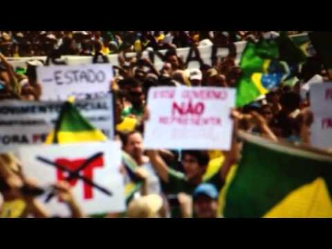 Over 1 Million Protest Brazil President Rouseff