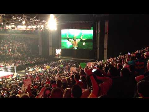 Triple H Return to WWE Raw ! Dallas Texas 2-25-13