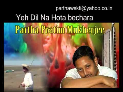 Yeh dil na hota bechara on Harmonica by Partha Mukherjee