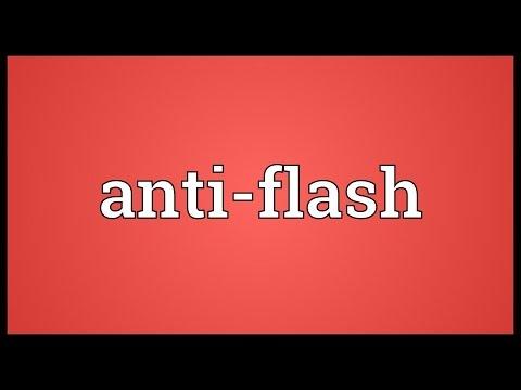 Header of anti-flash