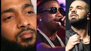 Nipsey Hussle Baby Mother Has a Warrant, Gucci Mane Reignites Beef With Drake (friendly)