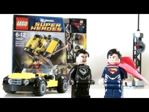 MAN OF STEEL Metropolis Showdown LEGO Set Review | Votesaxon07
