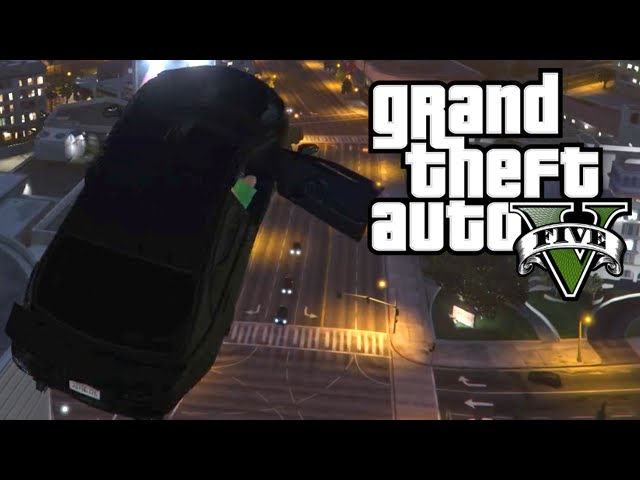 CAR LAUNCH GLITCH - GTA 5
