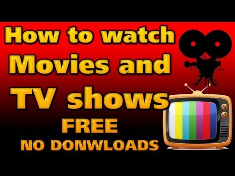 How to watch HD Movies AND TV online FREE (No downloads required)