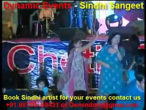 Sindhi Singer India singing Jhulelal Bhajan Live