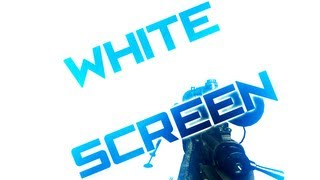 White Screen mw2 Sniper Switch (All snipers , 59 fps)