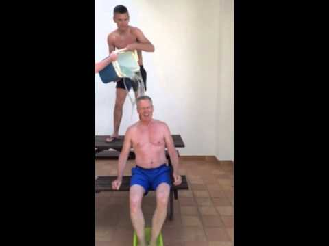 Gerry Kelly ice bucket challenge