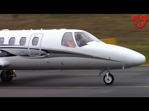 Cessna 550 Citation Bravo │ M-BRVO │ Germany. Berlin-Tegel 11.03.15
