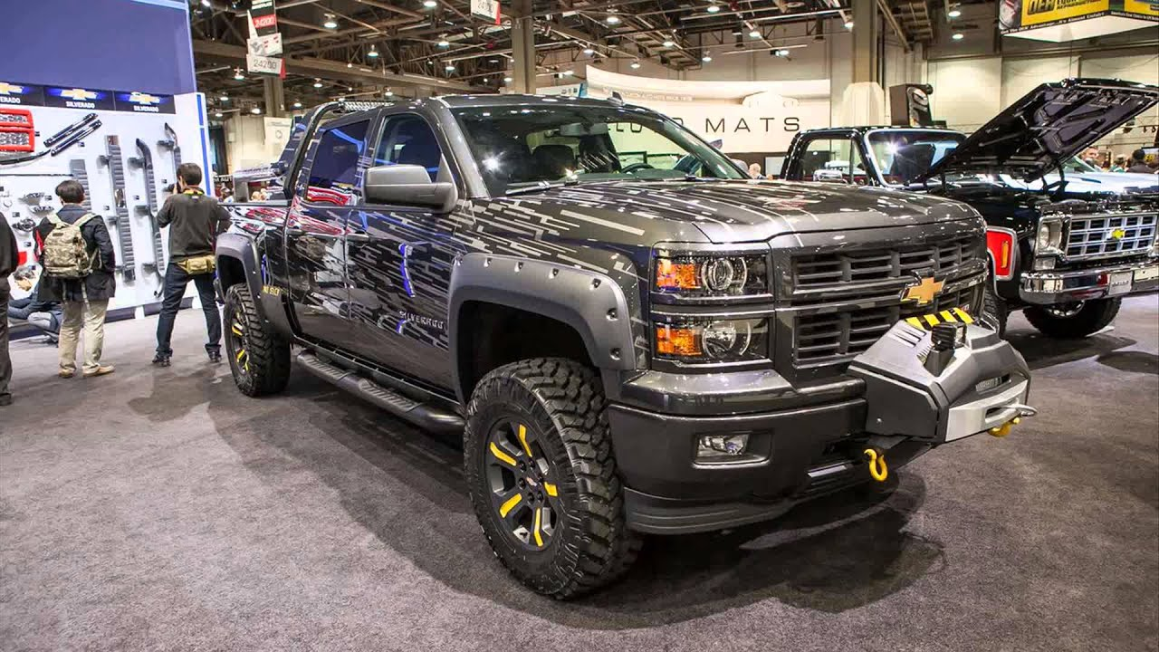 2015 Chevy Silverado Lifted