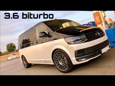 Weltpremiere: HGP VW [T5] T6 3.6 biturbo [7XX PS] by Autohaus Nordost Berlin