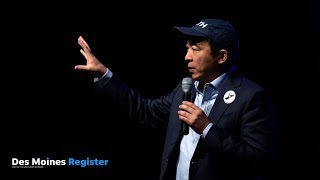 2020 presidential candidate Andrew Yang wants to use holograms on the campaign trail