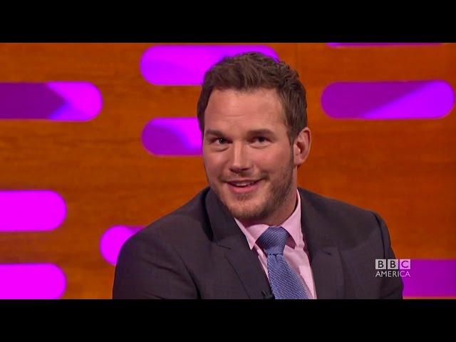 Chris Pratt Has Perfected The English Accent - Video