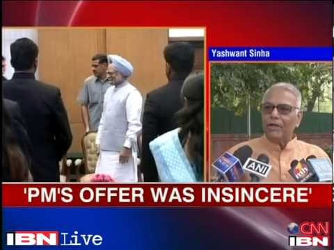 PM's offer to appear before PAC was not sincere Yashwant Sinha