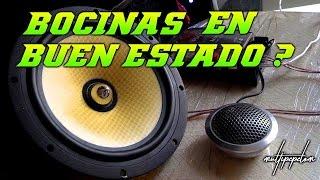 COMO SABER EL ESTADO DE UNA BOCINA USADA / CAR AUDIO - HD