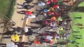 KNUST students vandalize school properties in a demonstration 3