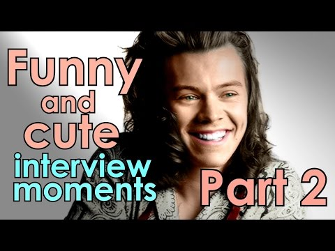 Harry Styles - Funny and cute interview moments {Part 2}