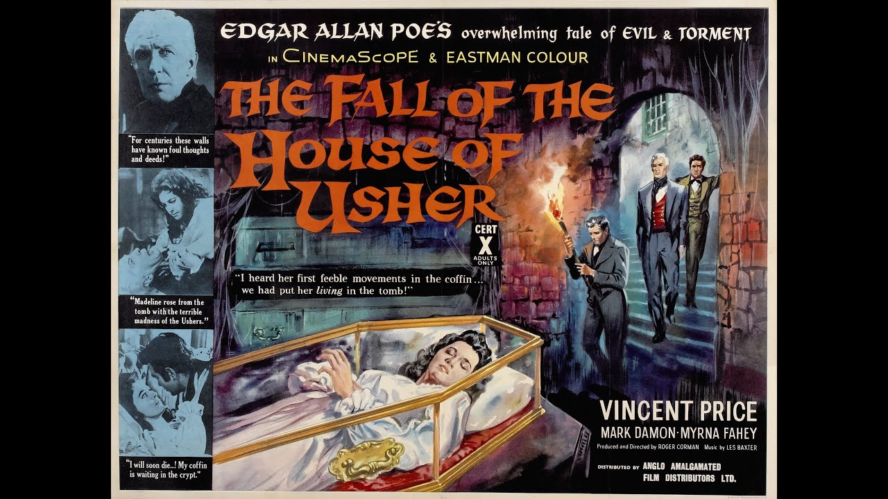 "the various settings in poes story the house of usher Decomposition of ""the fall of the house of  after analyzing poe's different downward  in ""usher"" poe deftly constructs a story replete with examples of."