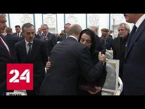 Путин в Кремле отметил тех, кто приумножает славу и гордость России