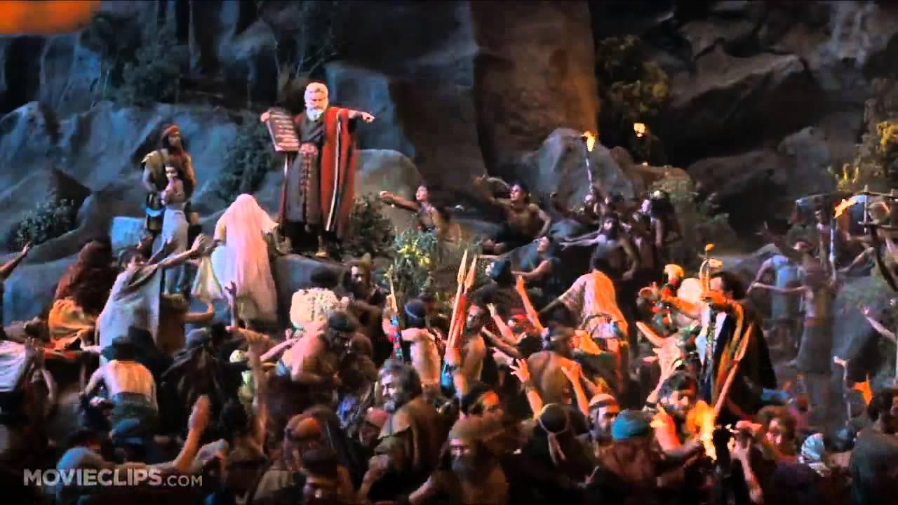 Moses Ten Commandments Movie The Ten Commandments 7 10