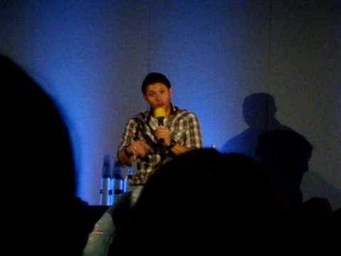 Jensen Ackles Asylum 2009 (Talking about his fiancée Danneel Harris and their dog Icarus) Video