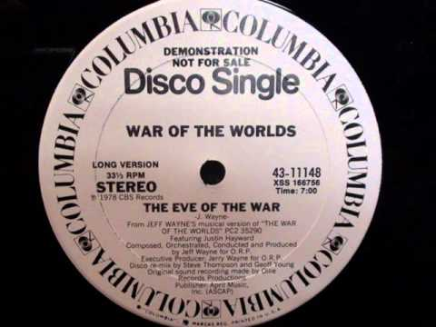 War Of The Worlds - The Eve Of The War [Disco Remix]