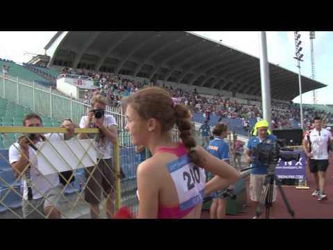 Кадры с Сурдлимпиады - легкая атлетика - Sofia Deaflympics 2013