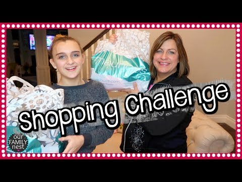 MOTHER & DAUGHTER BUY EACH OTHER OUTFITS CHALLENGE!
