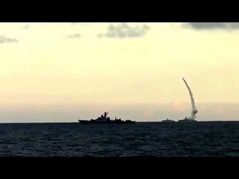 Russia Launches Cruise Missiles Against Islamic State