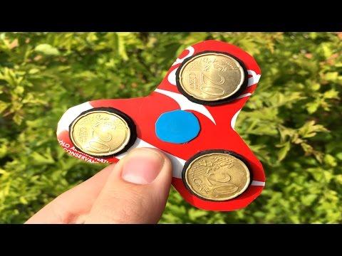 Cómo Hacer Un Spinner Con Una Coca Cola En Casa