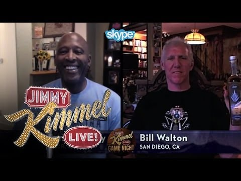 Skype Scavenger Hunt NBA Edition with James Worthy & Bill Walton