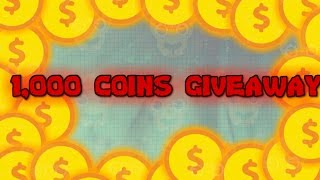 (Closed) :( 1,500 COINS GIVEAWAY! // AGAR.IO INSANE SPEEDRUNNING