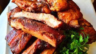 Smoked BBQ Ribs & BBQ Chicken Recipes- Memorial Day Recipes | Traeger Grills Collab