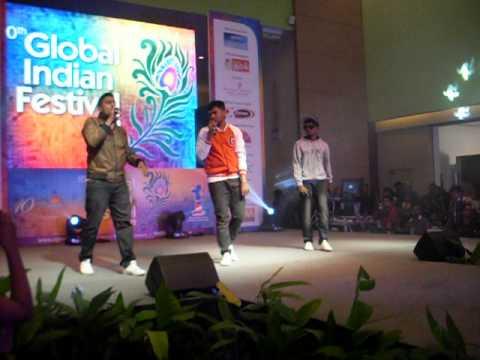 Havoc Brothers Kathal Tappu Tavaru And Senju Global Indian Festival Mid Velly 2012 Raghuthedon video