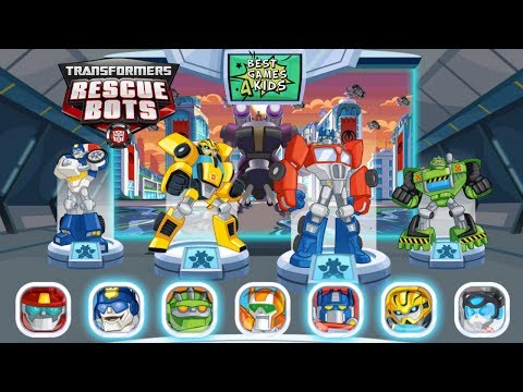 Transformers Rescue Bots: Disaster Dash Hero Run | Become a giant DinoBot! By Budge