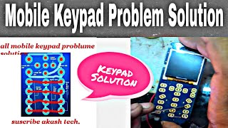 Mobile keypad problem solution and key pad ways , Nokia rm 1136 keypad problem solution
