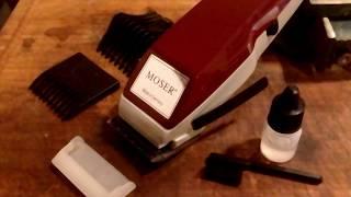 Moser 1400 Classic - Clean & Sharpen