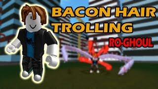 BACON HAIR TROLLING!! | Ro-Ghoul