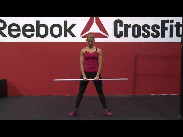 "Reebok CrossFit ONE Movement Demo ""Sumo Deadlift High Pull"""