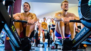 HEAD TO HEAD 3X2K ON THE ROWING MACHINE + DEALING WITH THE PAIN CAVE   E41S2