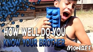 How Well Do I Know My Brother (INSANE ICE CHALLENGE)