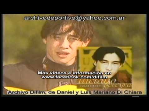 Archivo Difilm Promo Nuevo Disco De Luciano Pereyra (1999) video