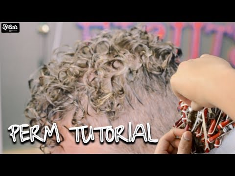 How To Get Curls With Short Hair! ( Perm Tutorial )