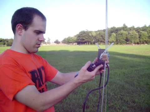 KB1LQD TDOA Direction Finding Antenna Test