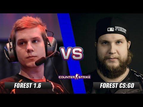 f0rest CS 1.6 vs f0rest CS:GO